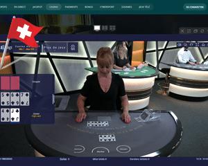 Texas Holdem dans un casino